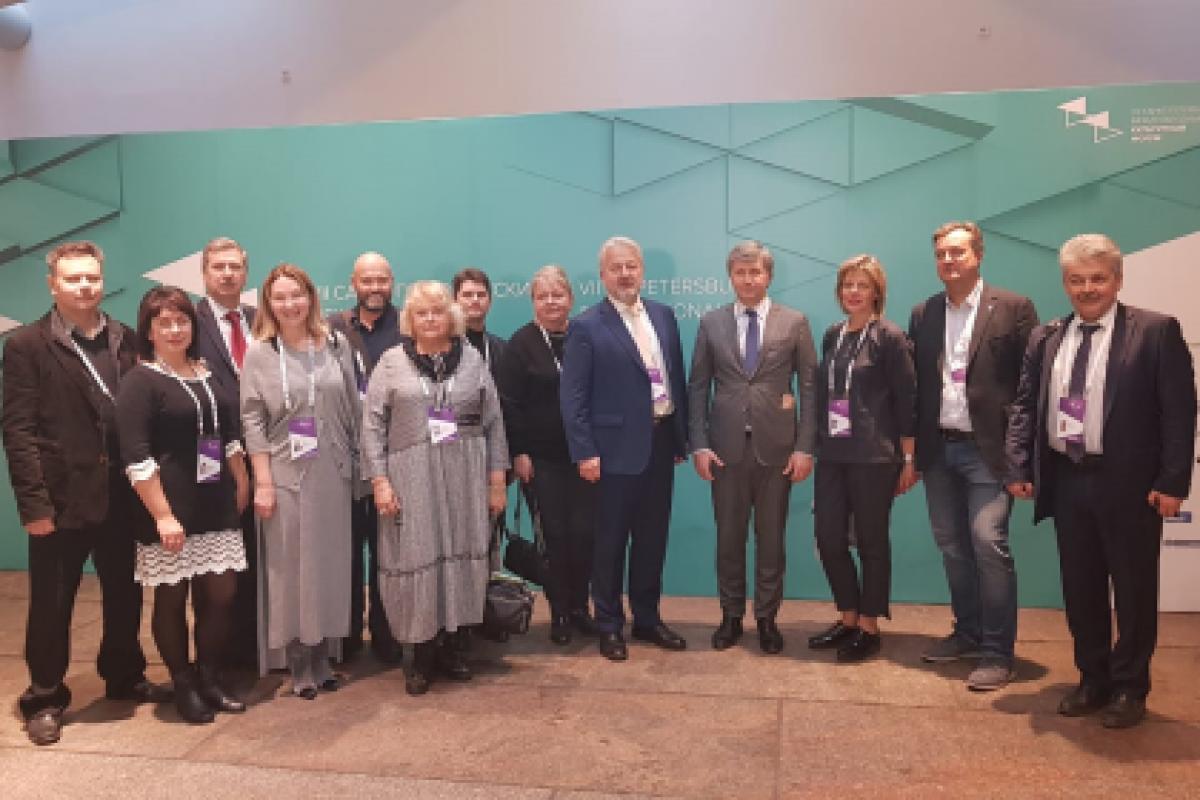 Владельцы исторических усадеб на 7 Санкт-Петербургском международном культурном форуме