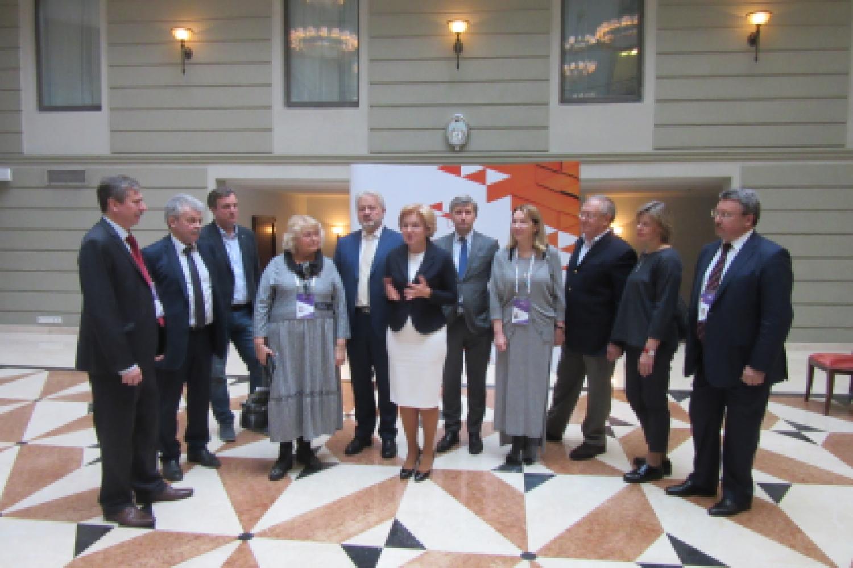 7й Санкт-Петербургский международный культурный форум - встреча с Ольгой Голодец и Владимиром Мединским (2)