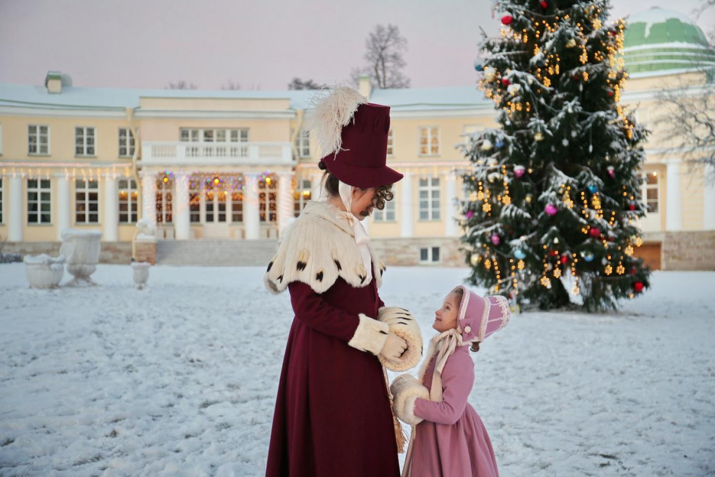Новогодний бал в резиденции Пиковой Дамы в старинной усадьбе Строгановых-Голицыных