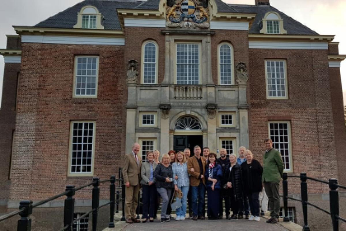 Поездка членов Ассоциации владельцев исторических усадеб в Голландию завершилась
