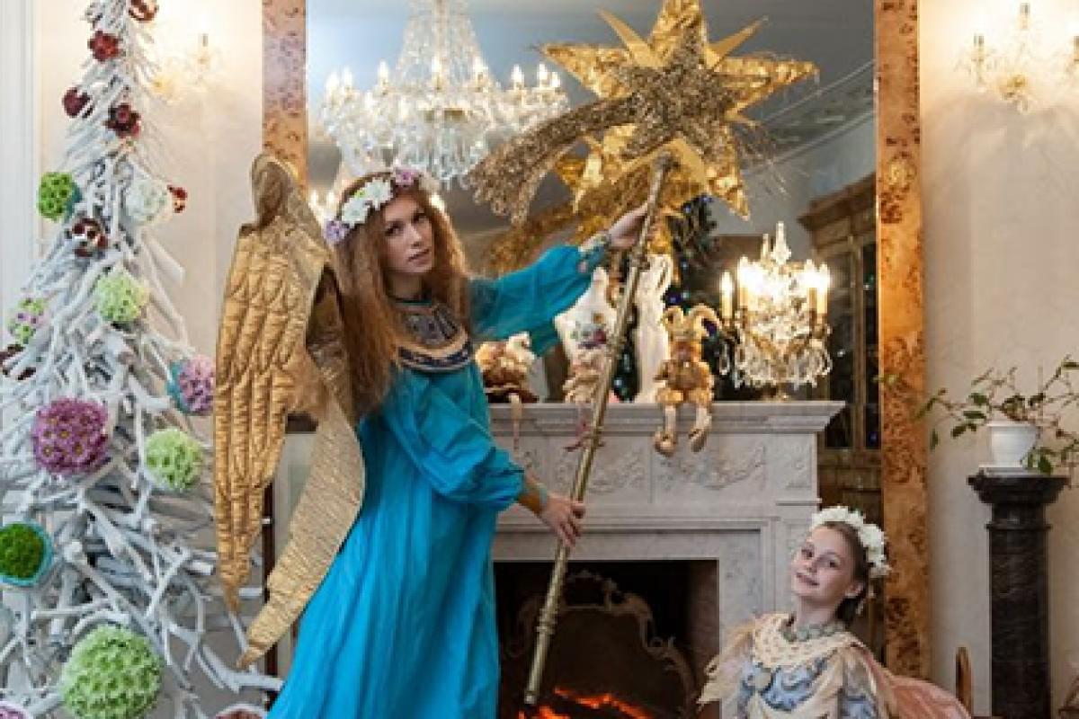 Рождество в Усадьбе Марьино - удивительное время, когда сердце наполняется ожиданием чуда