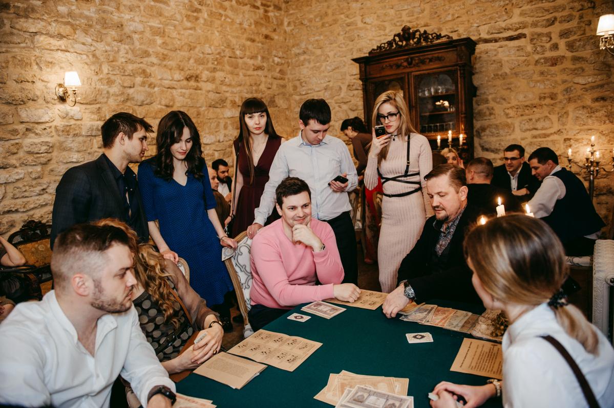 Вечер дворянских игр в усадьбе