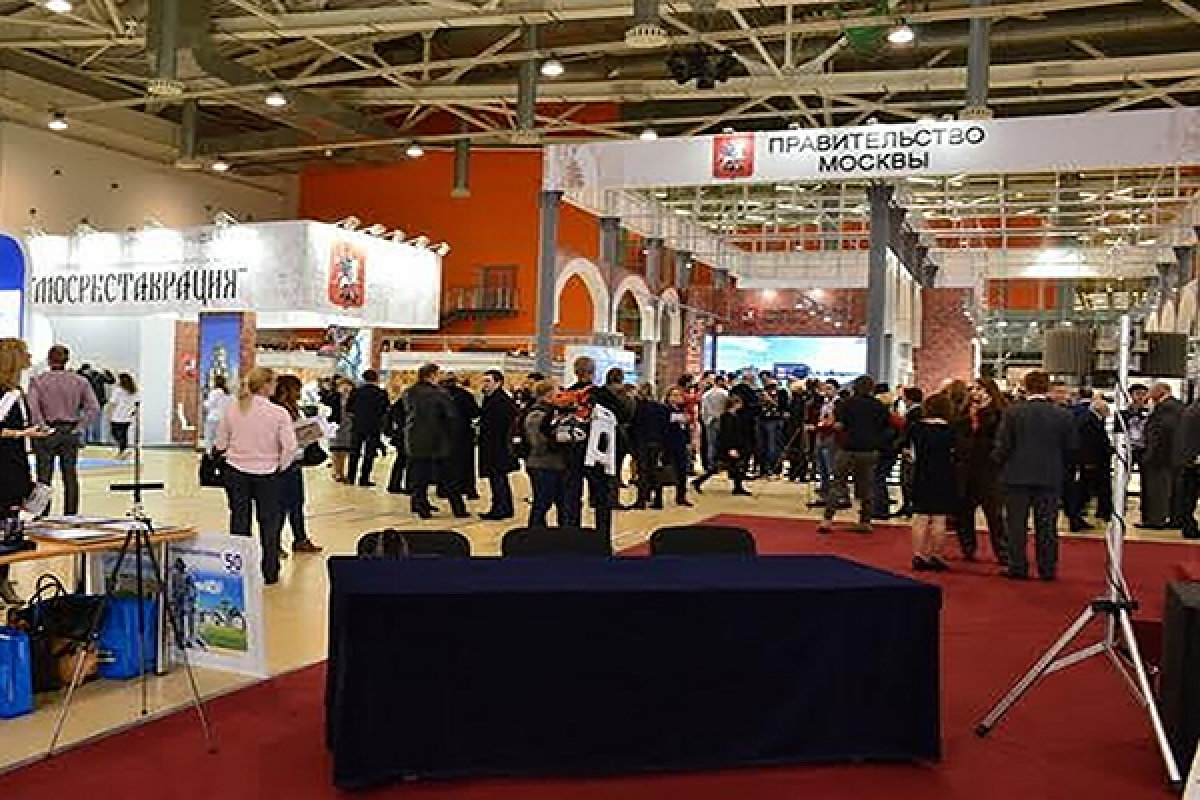 Выставка «Denkmal Москва 2015».